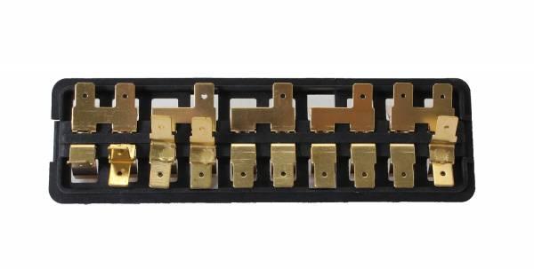 fuse box 10 fuse std bug ghia 1967 71 5 1971. Black Bedroom Furniture Sets. Home Design Ideas