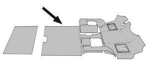Interior Parts - Vanagon Interior Parts - 251-8014-CH