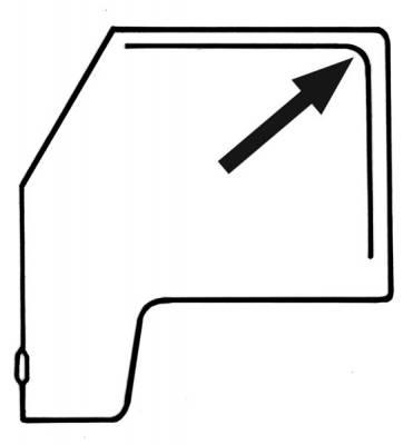 EXTERIOR - Door Rubber/Plastic - 111-439D