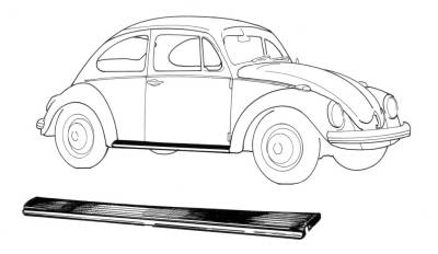 EXTERIOR - Running Boards & Parts - 111-011A