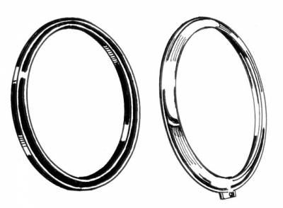 EXTERIOR - Light Lenses, Seals & Parts - 101-119-L/R
