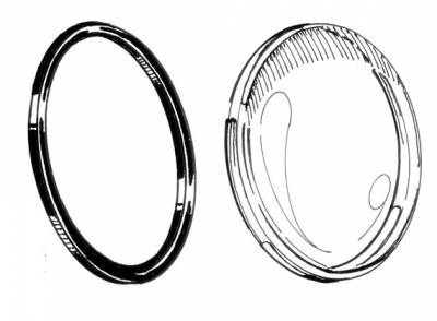 EXTERIOR - Light Lenses, Seals & Parts - 102-191-L/R