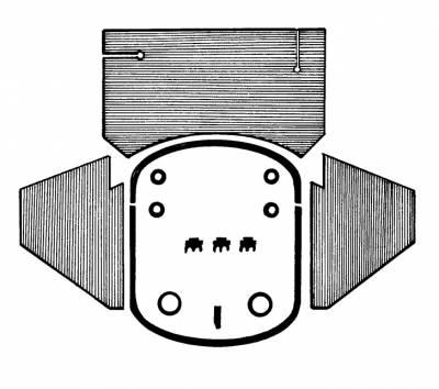 ENGINE COMPARTMENT - Engine Seals & Parts - 113-015A