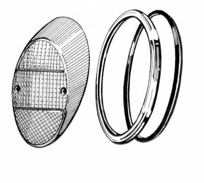 EXTERIOR - Body Molding, Emblems & Hardware - 111-945-235AR