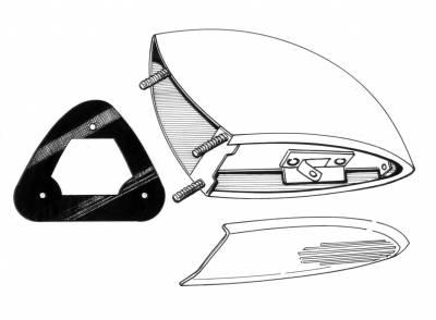EXTERIOR - Light Lenses, Seals & Parts - 111-128