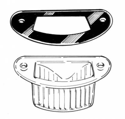 EXTERIOR - Light Lenses, Seals & Parts - 111-129C