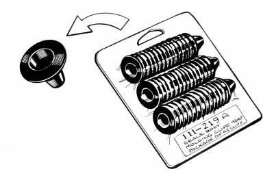 EXTERIOR - Body Rubber & Plastic - 111-219A