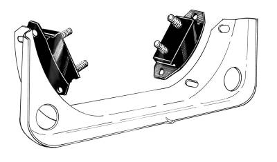 CHASSIS/SUSPENSION/CABLES - Transmission Mounts & Seals / Shift Bushings - 111-263