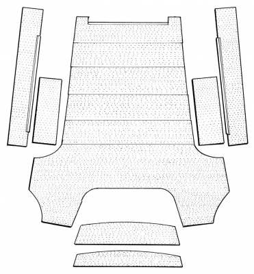 INTERIOR - Headliners & Sunvisors - 111-505V-BK
