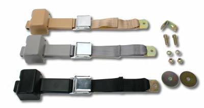 INTERIOR - Seat Belts & Parts - 111-708-BK