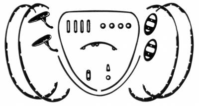EXTERIOR - Body Rubber & Plastic - 113-010G