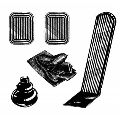 INTERIOR - Interior Rubber & Plastic - 311-065B