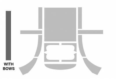 INTERIOR - Headliners & Sunvisors - 113-196