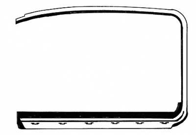 EXTERIOR - Door Rubber/Plastic - 113-321A-LOR