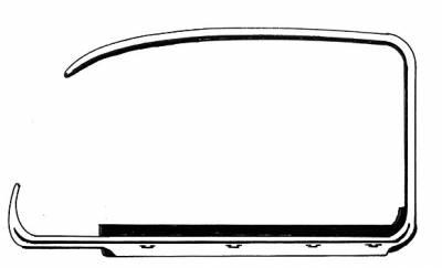 EXTERIOR - Door Rubber/Plastic - 113-322D-ROR