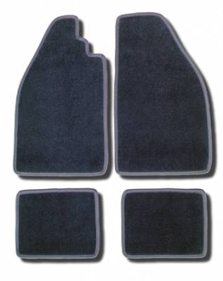 Carpet Kits & Floor Mats - Floor Mats - 143-400-BK