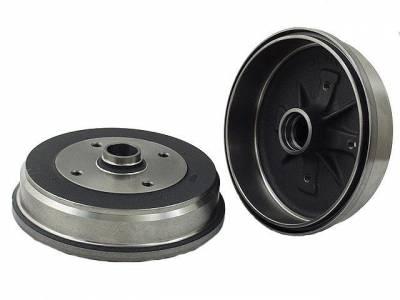 BRAKE SYSTEM - Brake Drums - 113-405-615D