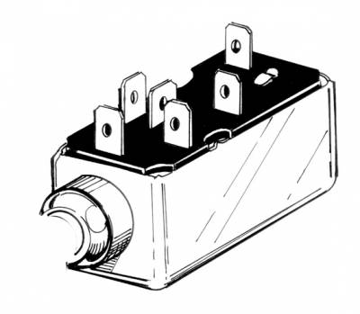 ELECTRICAL - Headlight Switches & Wires - 113-531E