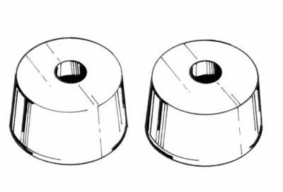 INTERIOR - Seat Parts & Accessories / Rear Kick Panels - 113-553