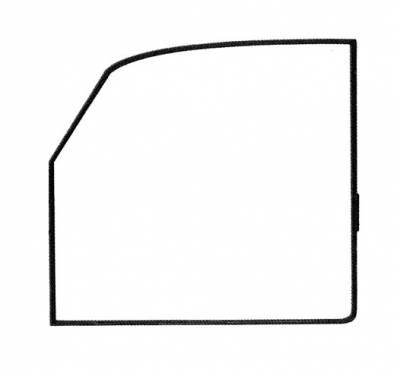 EXTERIOR - Door Rubber/Plastic - 113-721D-L