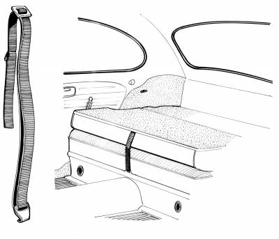 INTERIOR - Seat Parts & Accessories / Rear Kick Panels - 113-741