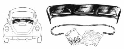 EXTERIOR - Body Molding, Emblems & Hardware - 113-918P