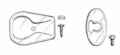 INTERIOR - Sunroof Covers, Seals & Hardware - 117-068
