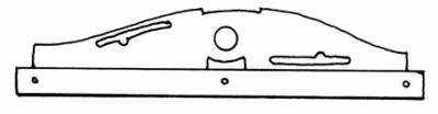 INTERIOR - Sunroof Covers, Seals & Hardware - 117-373