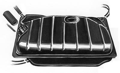 FUEL SYSTEM - Fuel Tanks & Senders - 133-201-075F
