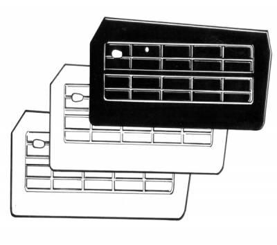 INTERIOR - Door & Quarter Panels/Accessories - 141-013P-L/R-WH