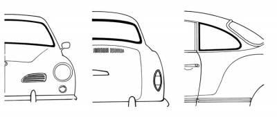 Window Rubber - American Style Window Rubber Kits - 143-017A