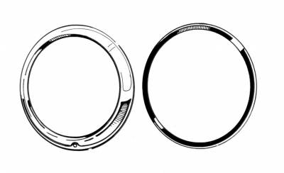 EXTERIOR - Light Lenses, Seals & Parts - 141-175