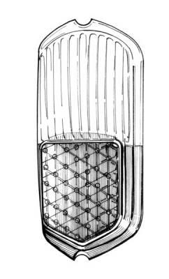 EXTERIOR - Light Lenses, Seals & Parts - 141-227-L/R