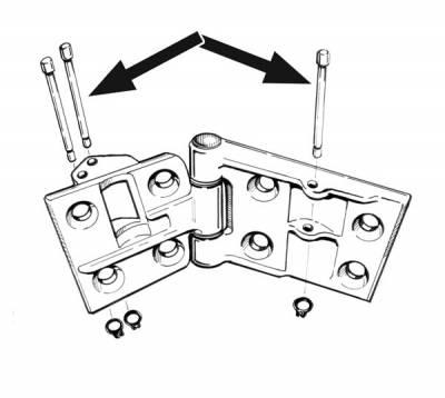 EXTERIOR - Door Hardware - 141-256A