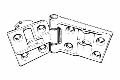 INTERIOR - Door Hardware - 141-412C-R