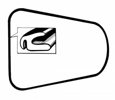 EXTERIOR - Body Rubber & Plastic - 141-705H
