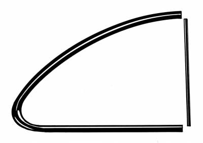 EXTERIOR - Quarter Window Parts - 141-018