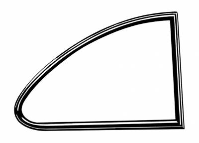 EXTERIOR - Quarter Window Parts - 143-321C-L/R