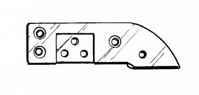 CONVERTIBLE TOP PARTS - Convertible Top Rubber, Pads, Hinge Covers & Parts - 151-270-L/R