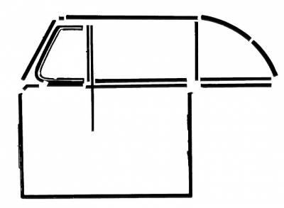 EXTERIOR - Door Rubber/Plastic - 151-475