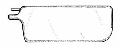 INTERIOR - Headliners & Sunvisors - 151-552E-L/R-BK