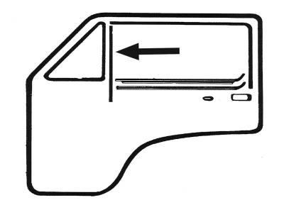 EXTERIOR - Door Rubber/Plastic - 171-8325