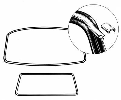 EXTERIOR - Window Molding - 253-8572