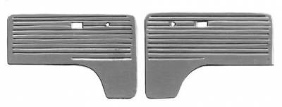 INTERIOR - Door Panels / Rear Panels & Accessories (Bus) - 211-014-L/R-GY