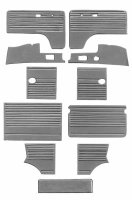 INTERIOR - Door Panels / Rear Panels & Accessories (Bus) - 211-018-L/R-GY