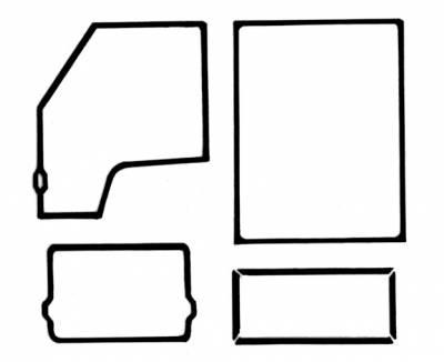 EXTERIOR - Door Rubber/Plastic - 211-042