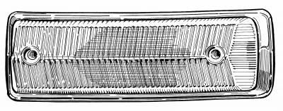 EXTERIOR - Light Lenses, Seals & Parts - 211-142P-GER