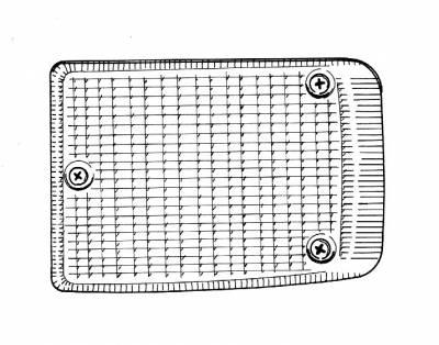 EXTERIOR - Light Lenses, Seals & Parts - 211-142T-GER