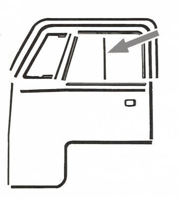 EXTERIOR - Door Rubber/Plastic - 211-231