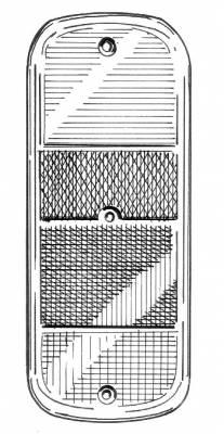 EXTERIOR - Light Lenses, Seals & Parts - 211-241R-L/R-GER